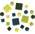 Mosaiksteine-Mischung, grün