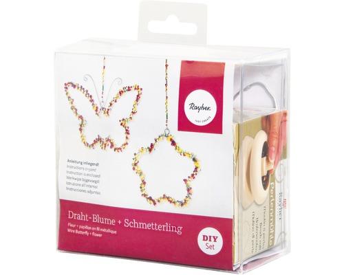 Deko Blume + Schmetterling, je 2
