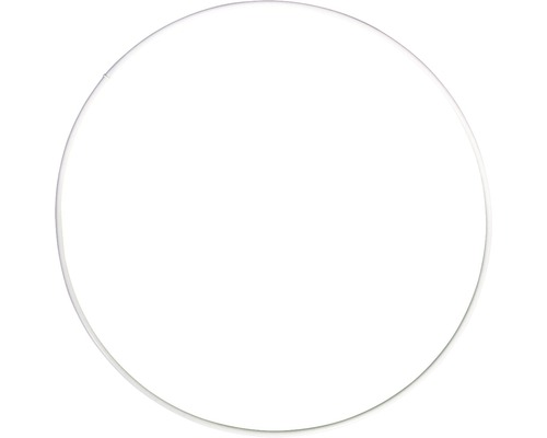Metallringe, beschichtet, weiß, 18cm