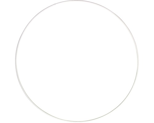Metallringe, beschichtet, weiß, 22cm