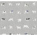 Vliestapete 32459-4 Küche Kühen grau