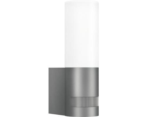 Steinel LED Sensor Außenwandleuchte 1x9,5W 600 lm 3000 K warmweiß L 605 anthrazit weiß LxB 260x78 mm 1-flammig