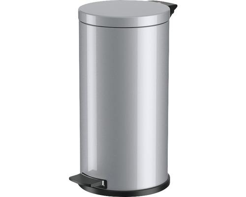 Treteimer Hailo Solid L 18 l 0522-070 silber