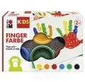 Marabu KiDS Fingerfarbe 6x 35ml