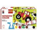 Marabu KiDS Window Color Farmer 6 x 80ml