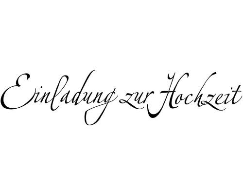"""H.- Stempel""""Einlad. z. Hochzeit"""""""
