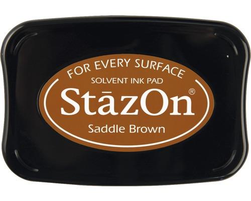 """Stempelkissen """"StazOn"""", nougat"""