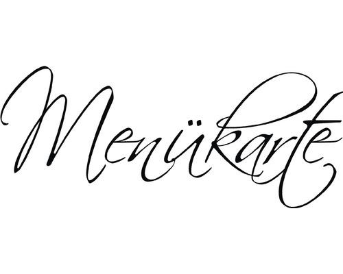 "H.- Stempel ""Menükarte"", 4x9cm"