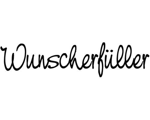 """H.- Stempel """"Wunscherfüller"""", 3x8cm"""