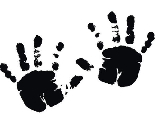 Stempel Babyhände 4x6cm