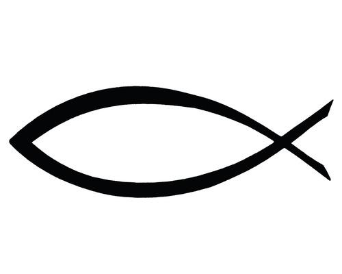 Stempel Fisch 3x7cm