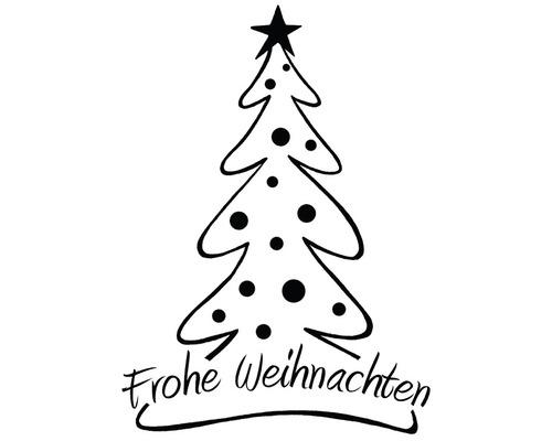 Stempel Tannenbaum, Frohe Weihnachten