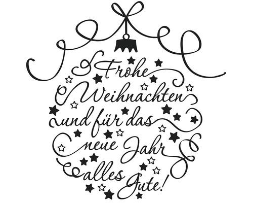 """Stempel """"Frohe Weihnachten"""", 7x7cm"""