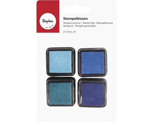 Mini-Stempelkissen Set - Boys, blau
