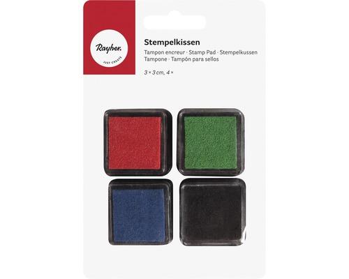 Mini-Stempelkissen Set - Basic, gemischt