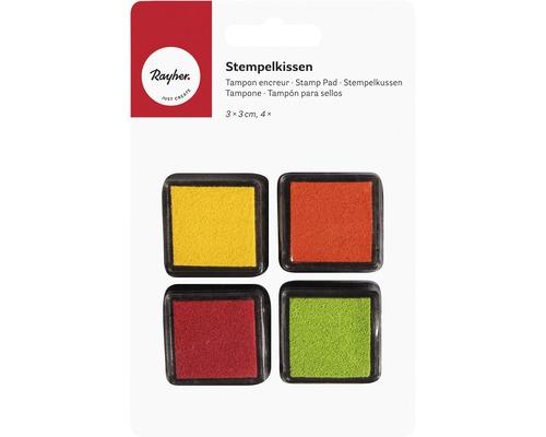 Mini-Stempelkissen Set - Spring, 4 Stück