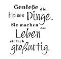 "Stempel ""kleine Dinge"", 5x6cm"