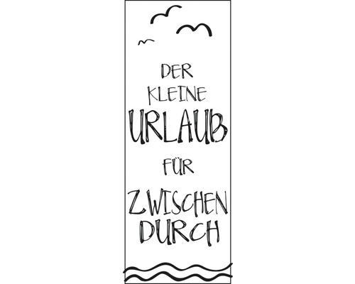 """Stempel """"Der kleine Urlaub für..."""""""