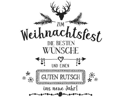 """Stempel """"Weihnachtsfest"""", 8x9cm"""