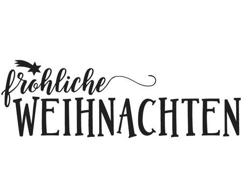 """Stempel """"fröhliche Weihnachten"""", 3x8cm"""