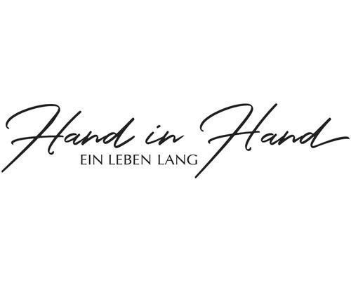 """Stempel """"Hand in Hand ein Leben lang"""""""