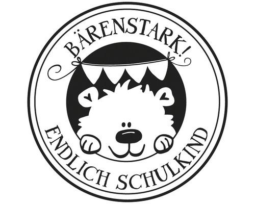 "Stempel ""Bärenstark! Endlich Schulkind"""