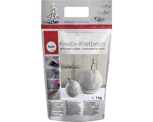 Kreativ-Knetbeton, Beutel 1kg