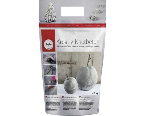 Kreativ-Knetbeton, Beutel 3kg