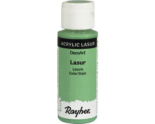 Acryl-Lasur, Effekt, 59ml, mintgrün