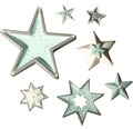 Gießform: Sterne, 7 Motive
