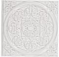 Relief-Eingießplatte Mandala, 11x11 cm