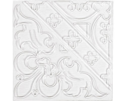 Relief-Eingießplatte Ornament, 11x11 cm