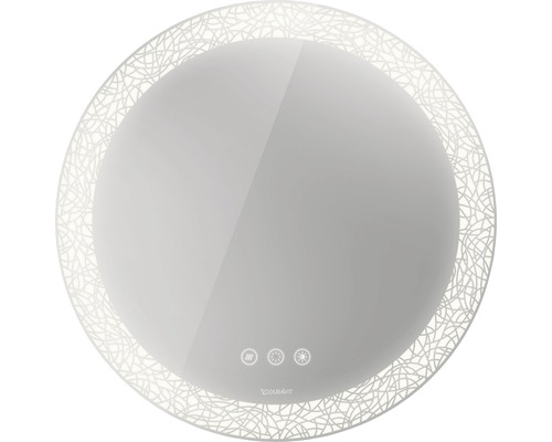 DURAVIT LED Badspiegel Happy D.2 Plus mit Beleuchtung Lichtfelddekor organic 70 cm HP7485G0000
