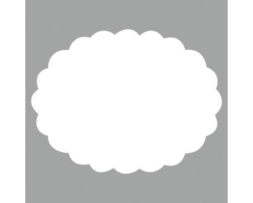 Motivstanzer: Oval mit Zierrand, 7,5x5,5 cm ø