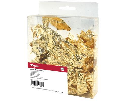Deco-Metall-Flocken, 1g, gold