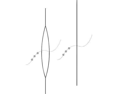 Spezial-Perlenaufreihnadel, 5,7cm
