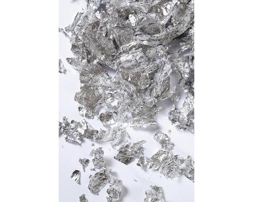 Deco-Metall-Flocken, 1g, silber