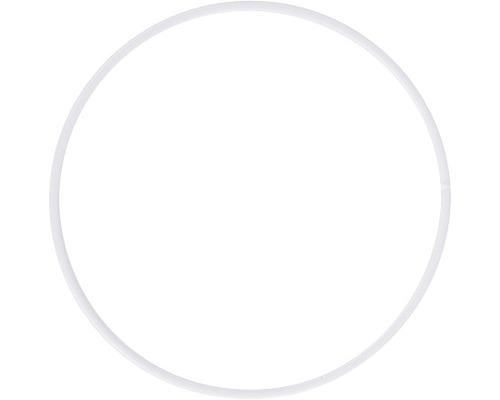Metallringe beschichtet, 10cm ø, weiß