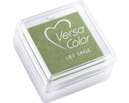 "Stempelkissen ""Versacolor"", mintgrün"