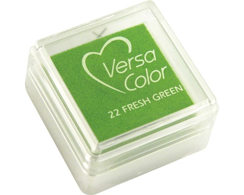 "Stempelkissen ""Versacolor"", grasgrün"