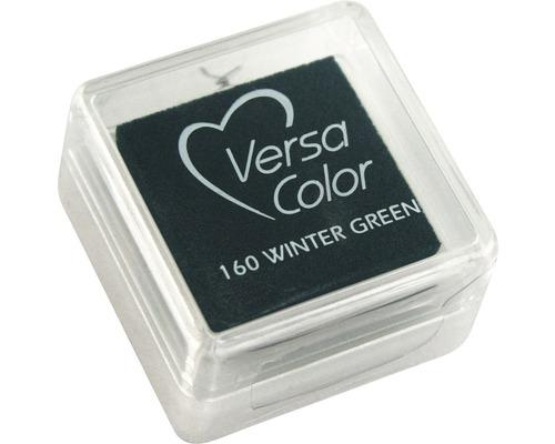 "Stempelkissen ""Versacolor"", dunkelgrün"