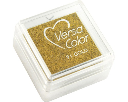 "Stempelkissen ""Versacolor"", brillant gold"