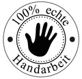"Stempel ""Handarbeit"", 3cm ø"