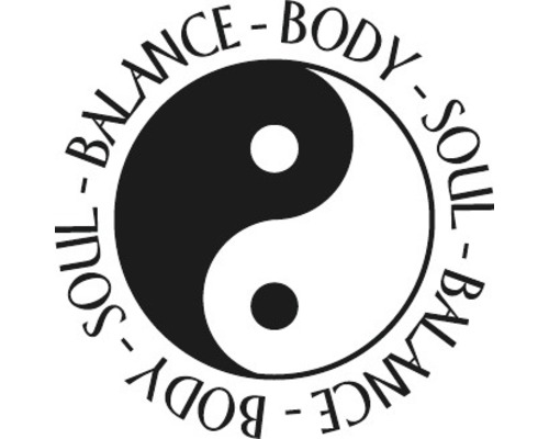 "Stempel ""Yin & Yang"", 3cm ø"