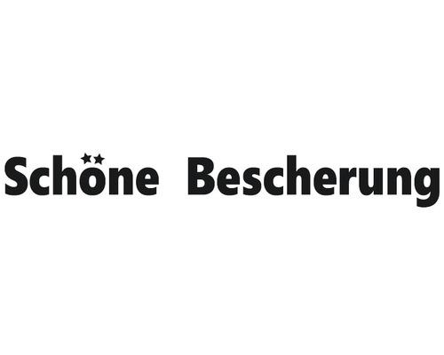 """Statement-Stempel """"Schöne Bescherung"""" 1x7cm"""