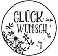 """Stempel """"Glückwunsch"""", 3cm ø"""