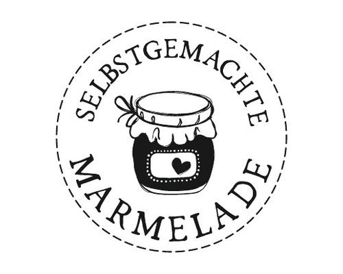 "Stempel ""Marmelade"", 3cm ø"