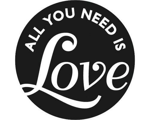 "Label ""All you need is Love"", 45mm"