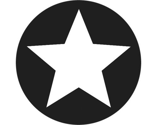 Label Stern, 45mm ø
