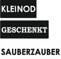 "Labels ""Kleinod"", ""Geschenkt"", ""Sauberzauber"", 3 Stück"